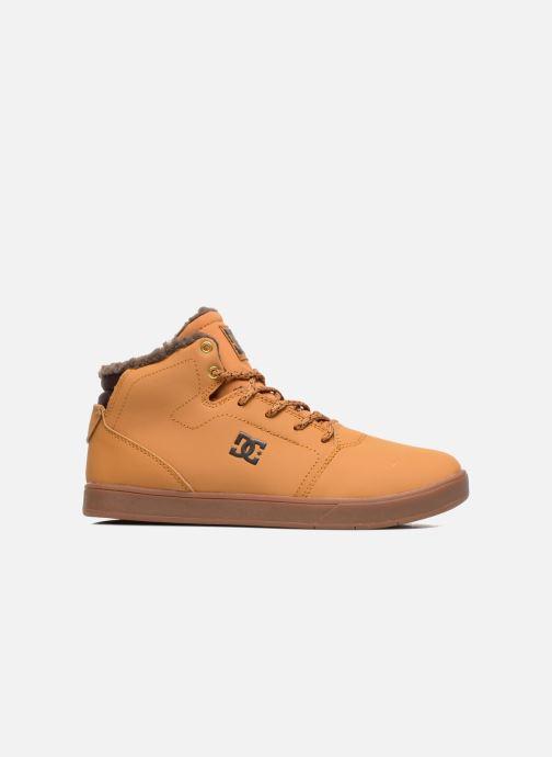 Baskets DC Shoes CRISIS HIGH WNT Beige vue derrière