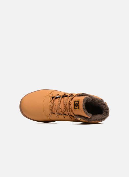 Baskets DC Shoes CRISIS HIGH WNT Beige vue gauche