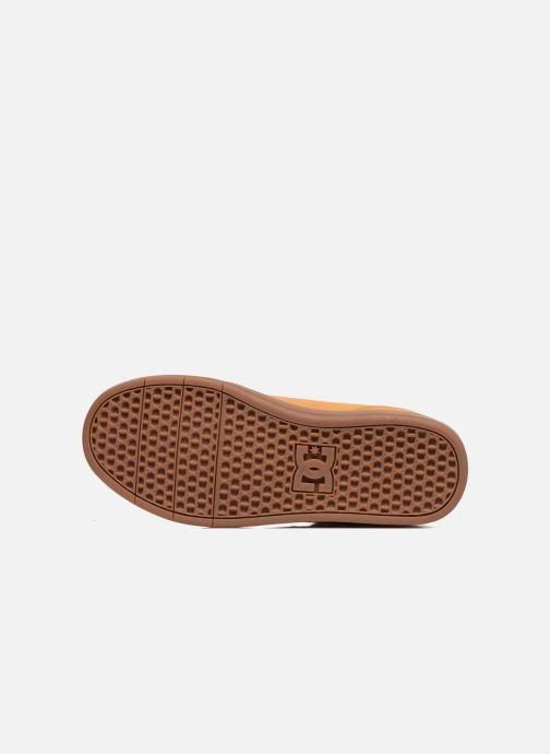Baskets DC Shoes CRISIS HIGH WNT Beige vue haut