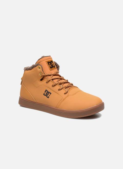 Baskets DC Shoes CRISIS HIGH WNT Beige vue détail/paire