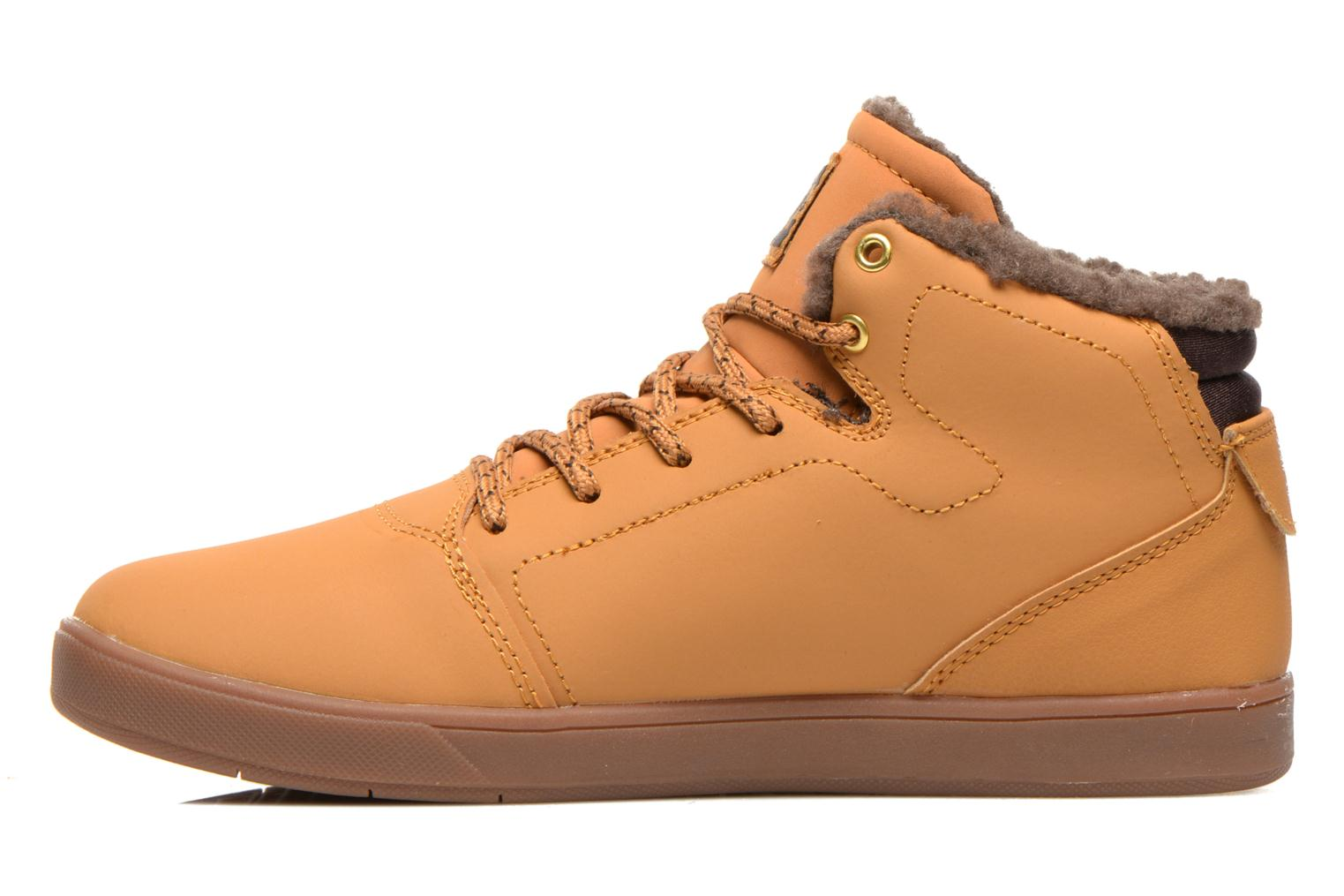 Trainers DC Shoes CRISIS HIGH WNT Beige front view
