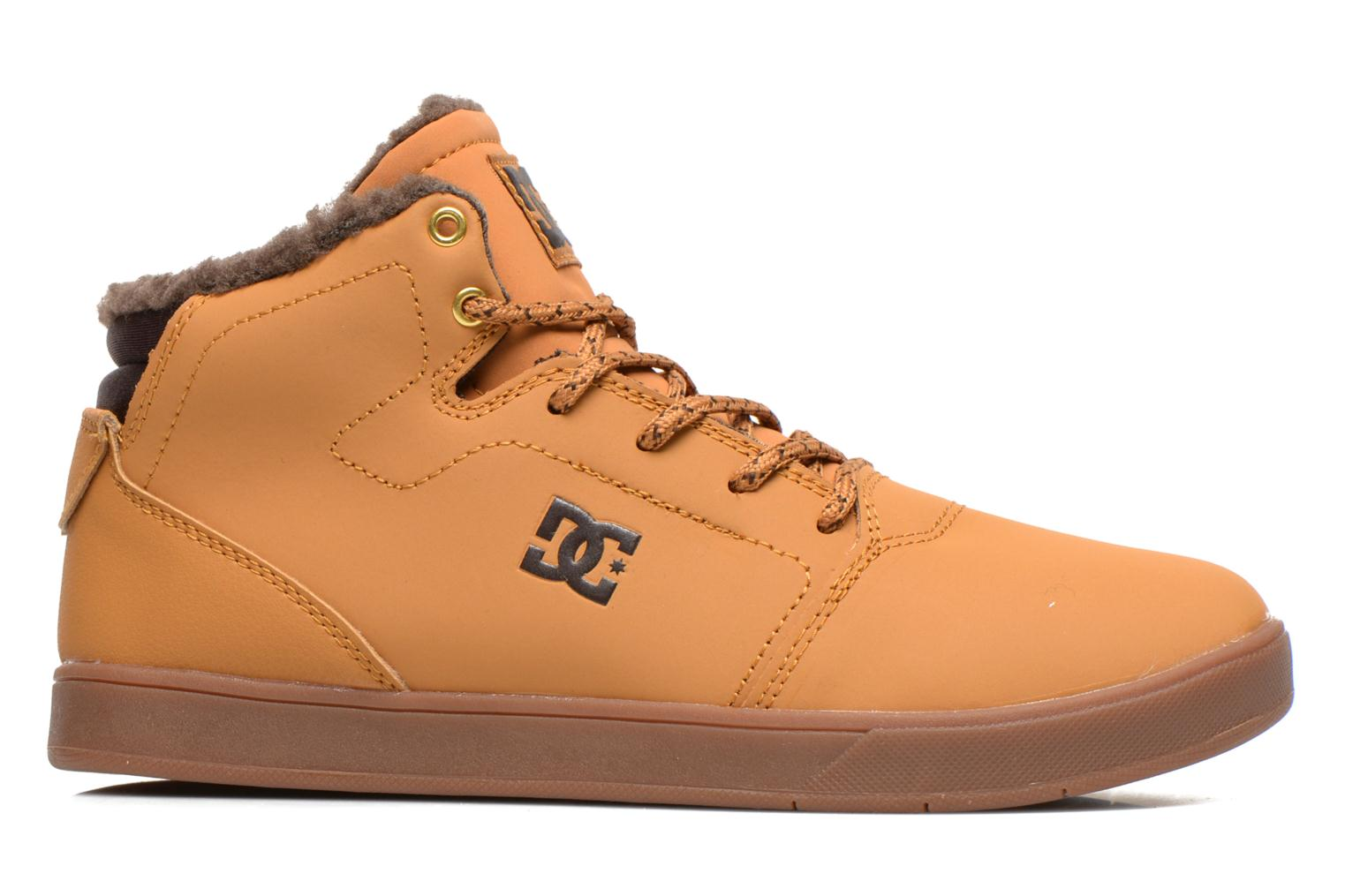 Sneakers DC Shoes CRISIS HIGH WNT Beige achterkant