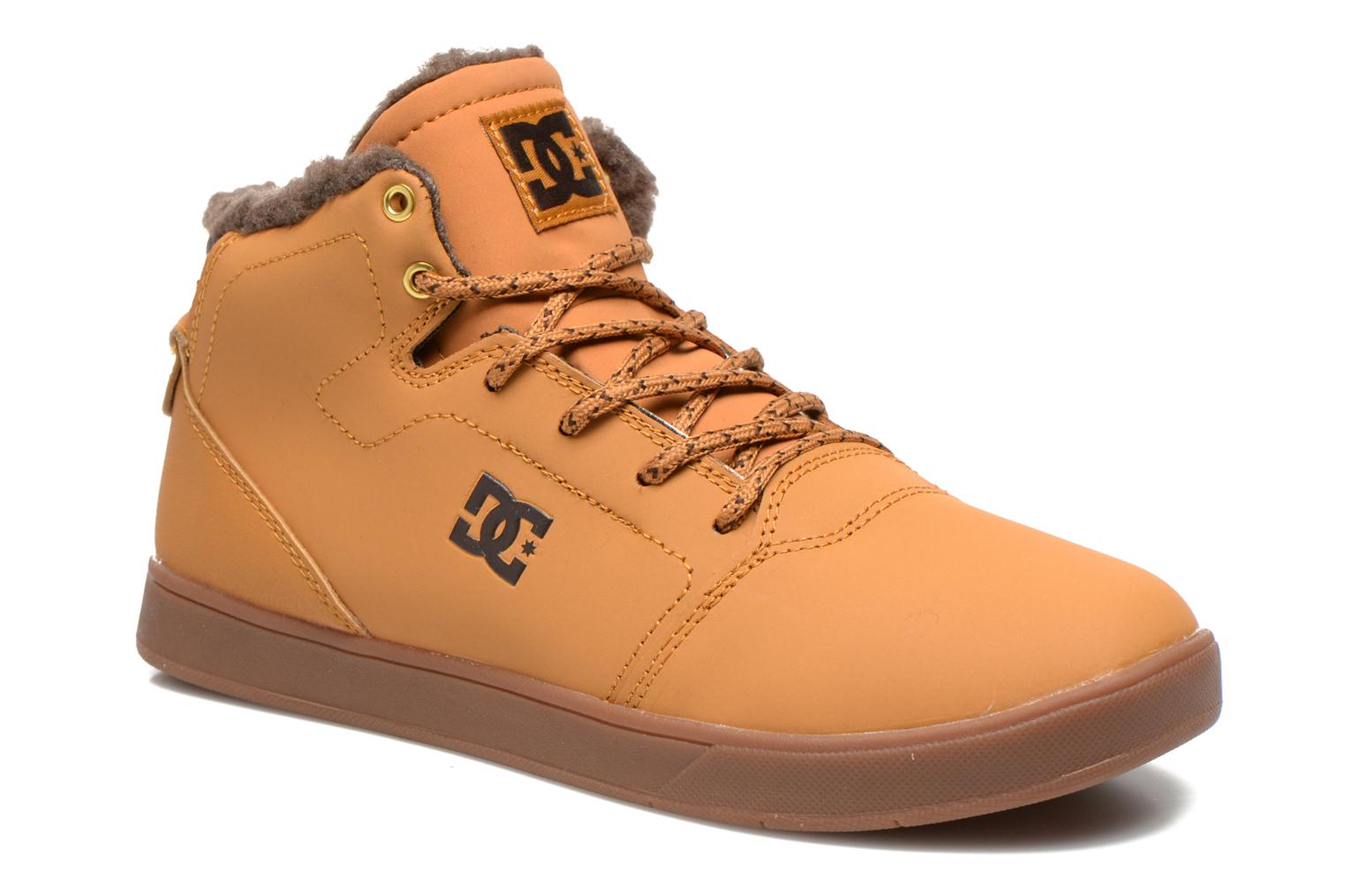 Trainers DC Shoes CRISIS HIGH WNT Beige detailed view/ Pair view