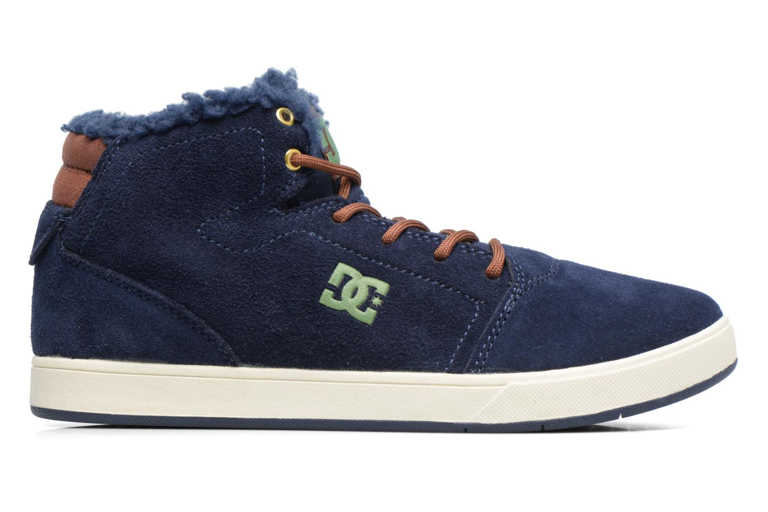 Sneakers DC Shoes CRISIS HIGH WNT Blauw achterkant