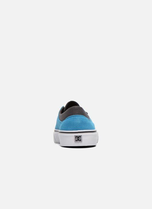 Baskets DC Shoes TRASE SD Bleu vue droite