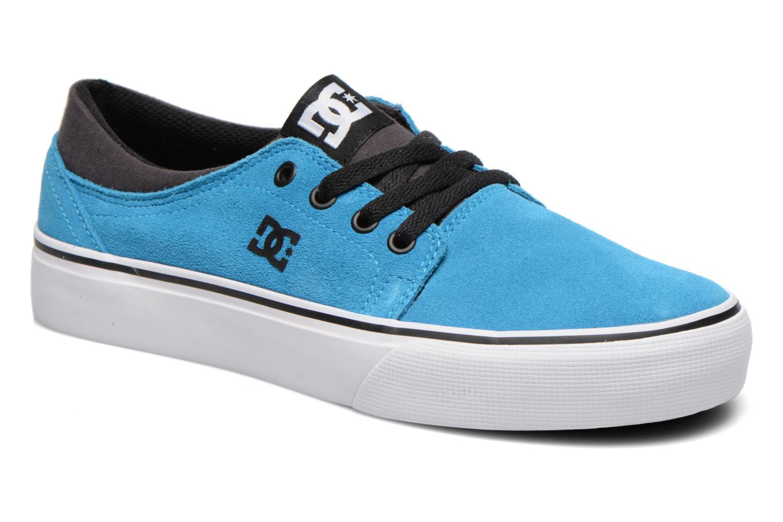 Deportivas DC Shoes TRASE SD Azul vista de detalle / par