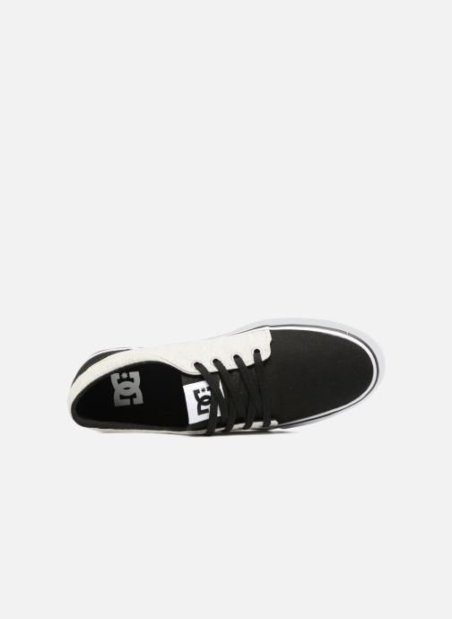 Baskets DC Shoes TRASE TX Kids Noir vue gauche