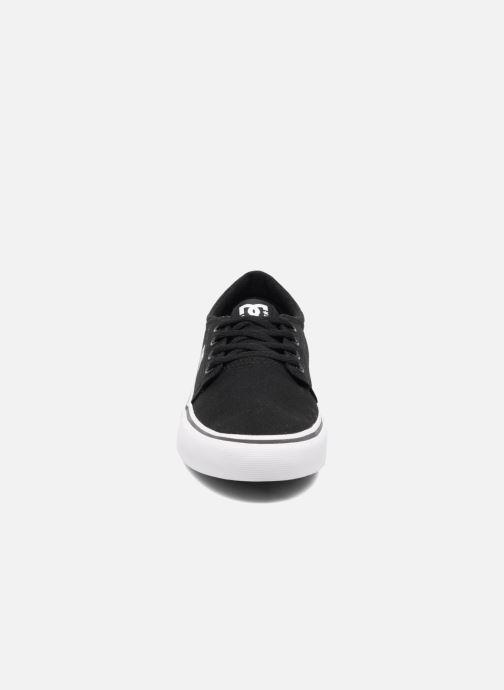 Baskets DC Shoes TRASE TX Kids Noir vue portées chaussures