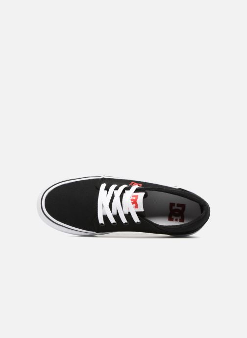 Trainers DC Shoes TRASE TX Kids Black view from the left