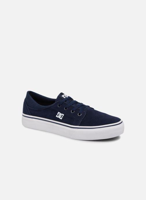 Deportivas DC Shoes TRASE TX Kids Azul vista de detalle / par
