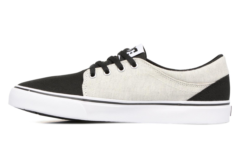 Sneakers DC Shoes TRASE TX Kids Zwart voorkant
