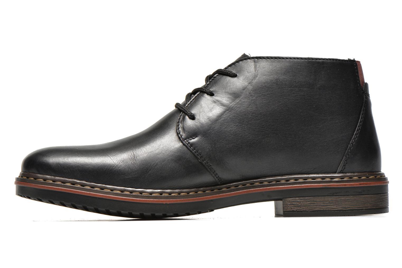 Chaussures à lacets Rieker Martin 30423 Noir vue face