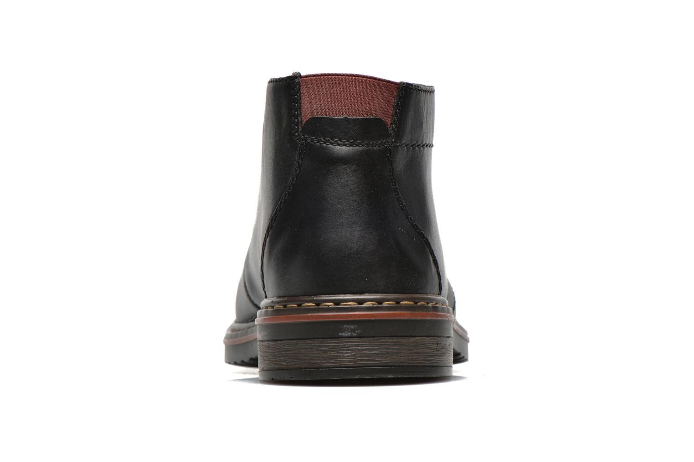 Chaussures à lacets Rieker Martin 30423 Noir vue droite