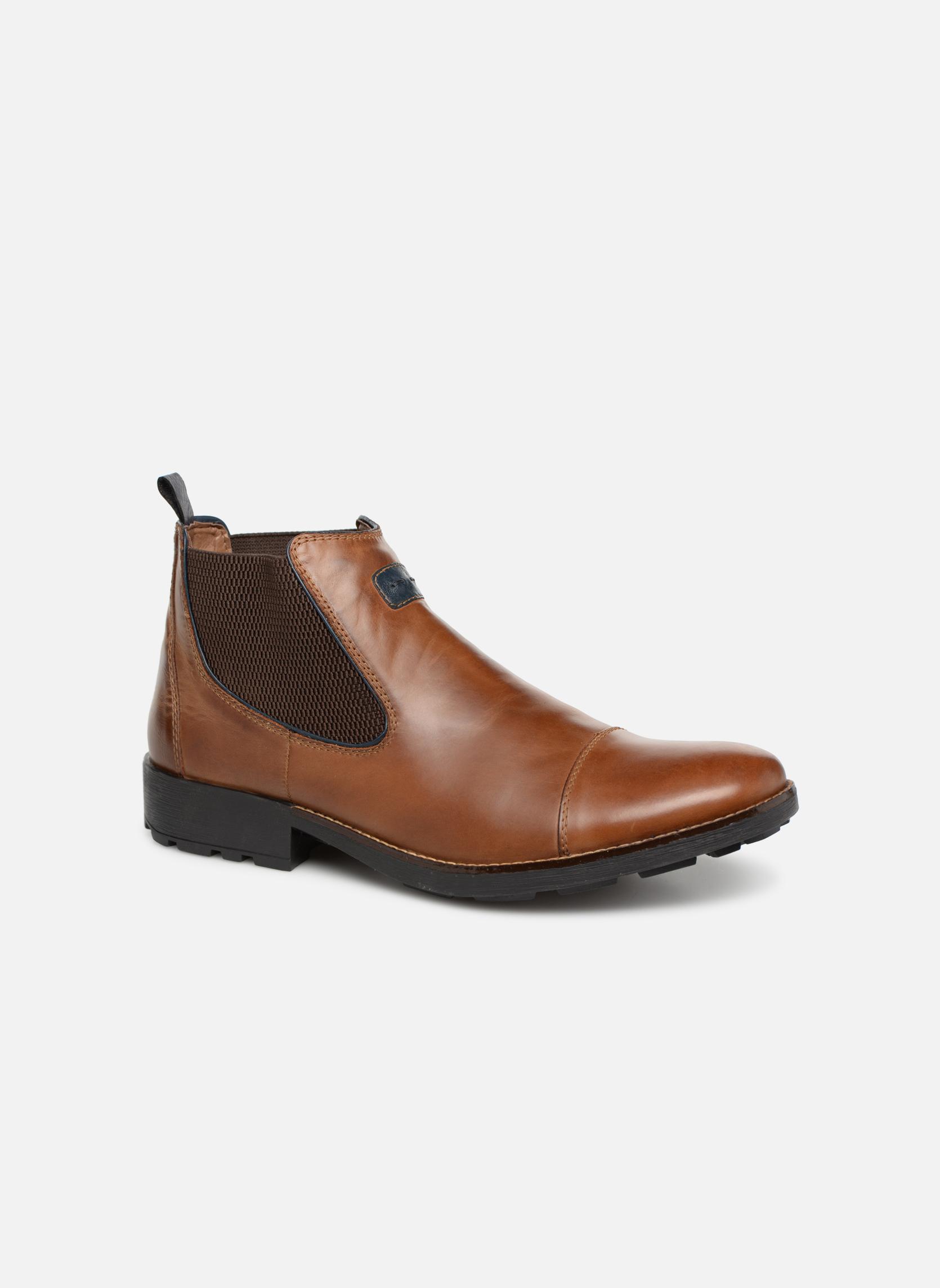 Bottines et boots Rieker Five 36063 Marron vue détail/paire