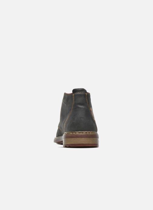 Chaussures à lacets Rieker Nate F1210 Gris vue droite