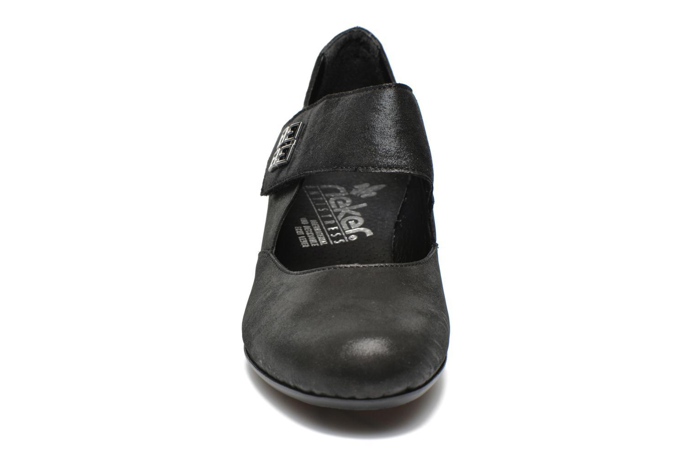 Escarpins Rieker Horse 50551 Noir vue portées chaussures