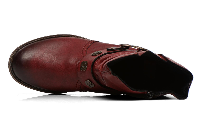 Boots en enkellaarsjes Rieker Myla 74798 Bordeaux links