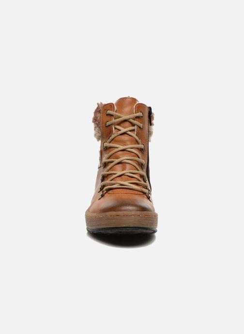 Bottines et boots Rieker Ilam Z6743 Marron vue portées chaussures