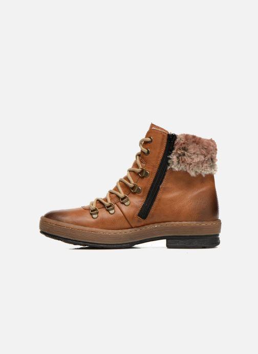 Boots en enkellaarsjes Rieker Ilam Z6743 Bruin voorkant