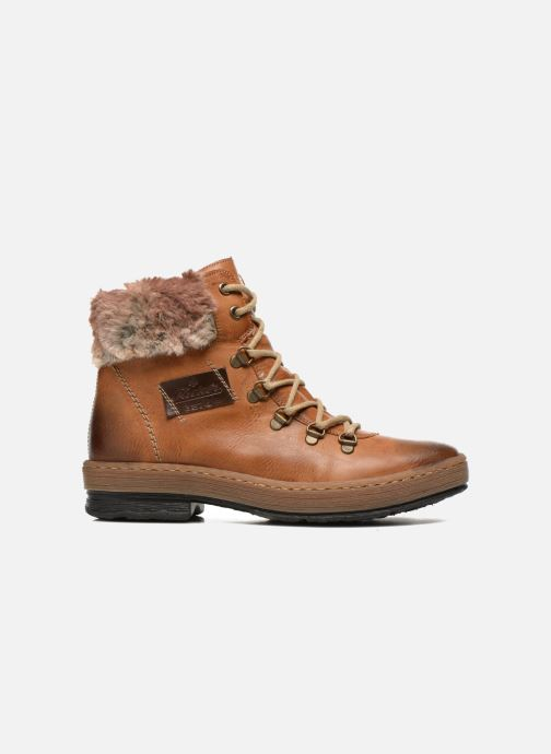 Boots en enkellaarsjes Rieker Ilam Z6743 Bruin achterkant