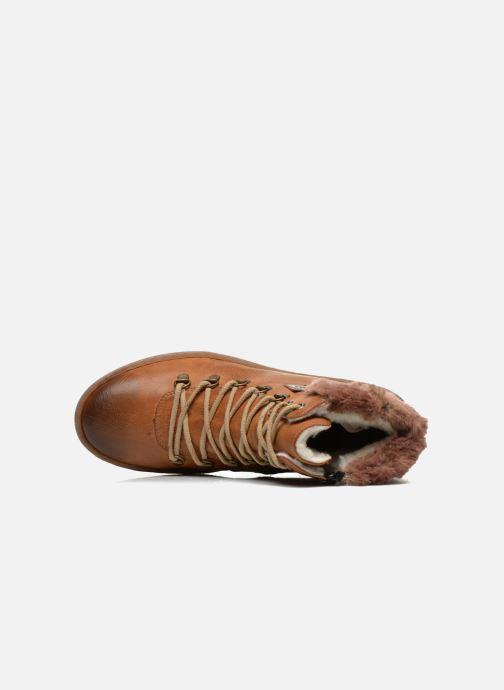 Boots en enkellaarsjes Rieker Ilam Z6743 Bruin links