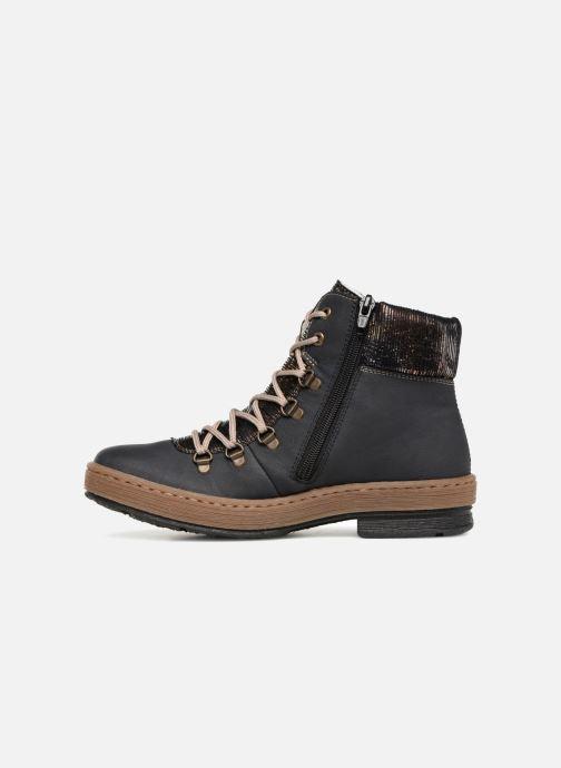 Bottines et boots Rieker Ilam Z6743 Bleu vue face