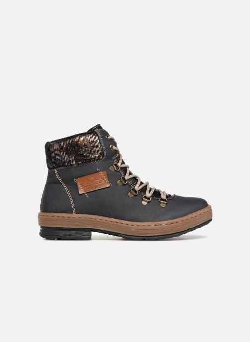Bottines et boots Rieker Ilam Z6743 Bleu vue derrière