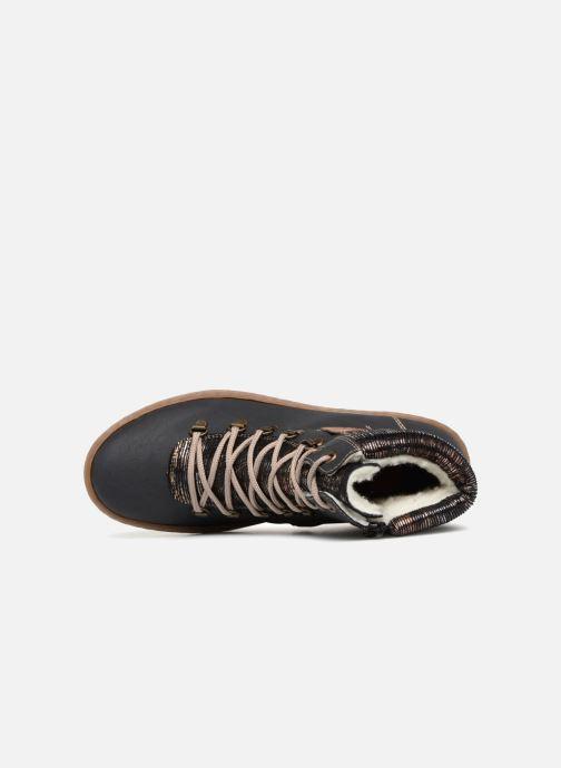 Bottines et boots Rieker Ilam Z6743 Bleu vue gauche