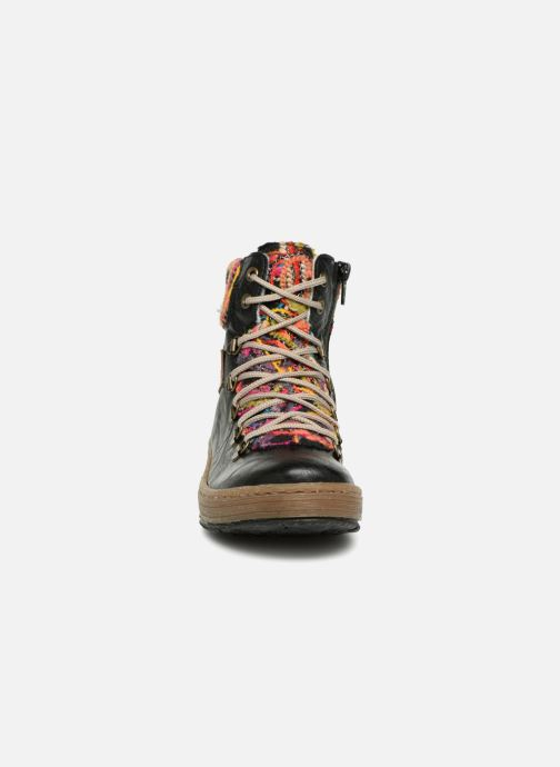 Bottines et boots Rieker Ilam Z6743 Noir vue portées chaussures