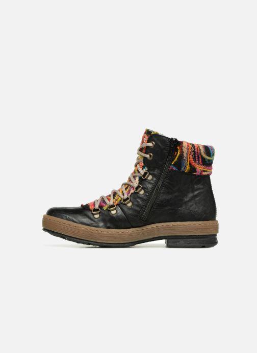 Boots en enkellaarsjes Rieker Ilam Z6743 Zwart voorkant