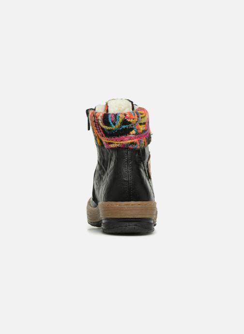 Boots en enkellaarsjes Rieker Ilam Z6743 Zwart rechts