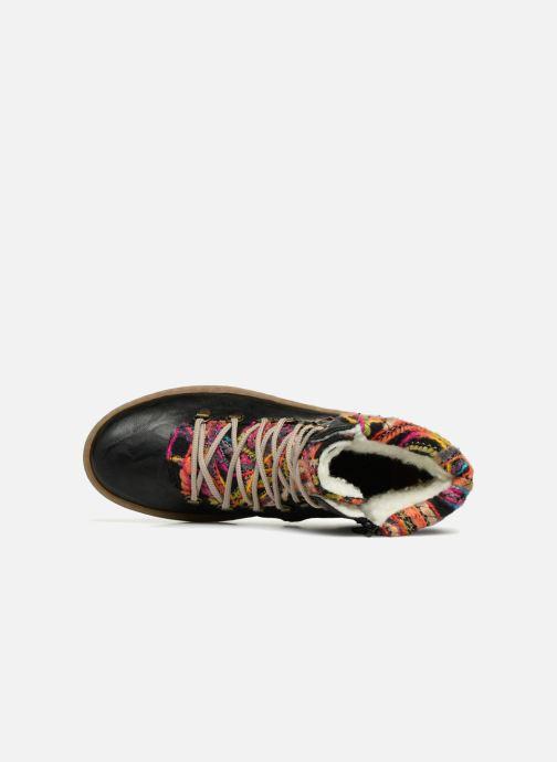 Boots en enkellaarsjes Rieker Ilam Z6743 Zwart links