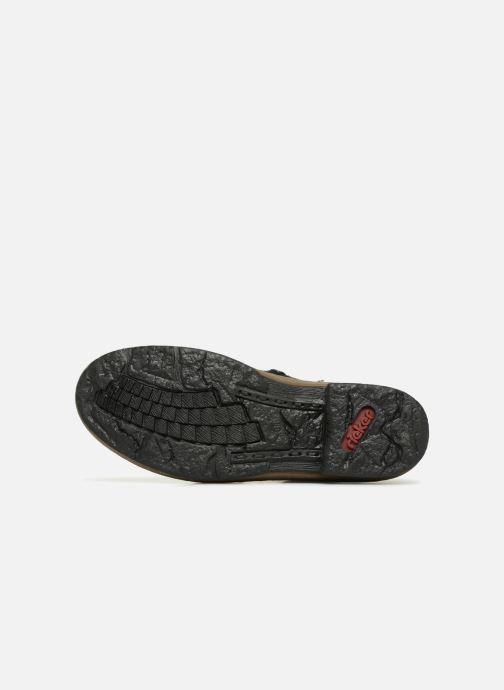 Bottines et boots Rieker Ilam Z6743 Noir vue haut