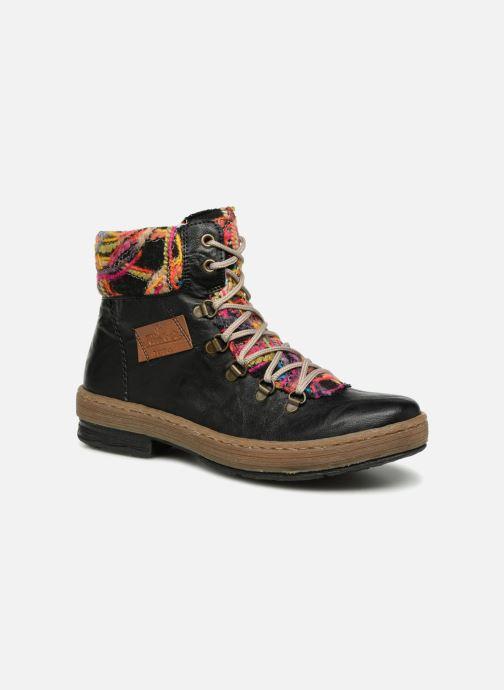 Boots en enkellaarsjes Rieker Ilam Z6743 Zwart detail