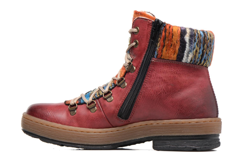 Stiefeletten & Boots Rieker Ilam Z6743 weinrot ansicht von vorne