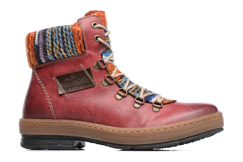 Stiefeletten & Boots Rieker Ilam Z6743 weinrot ansicht von hinten