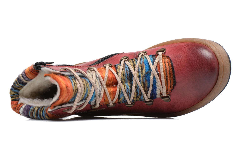 Stiefeletten & Boots Rieker Ilam Z6743 weinrot ansicht von links