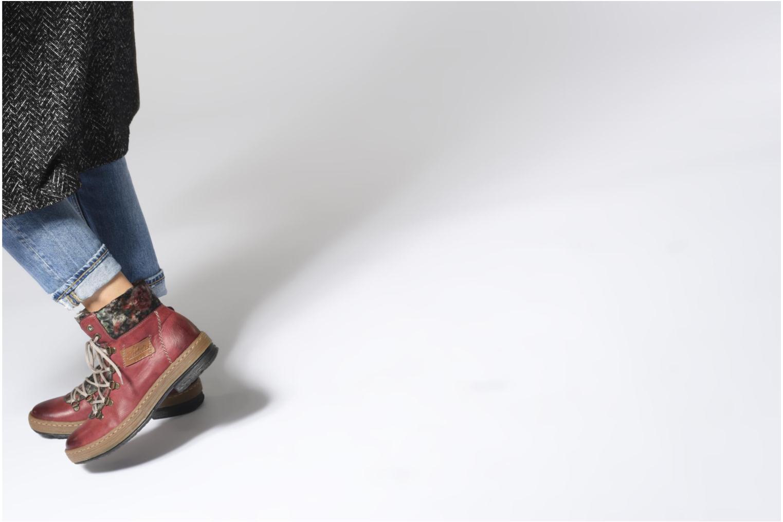 Bottines et boots Rieker Ilam Z6743 Noir vue bas / vue portée sac