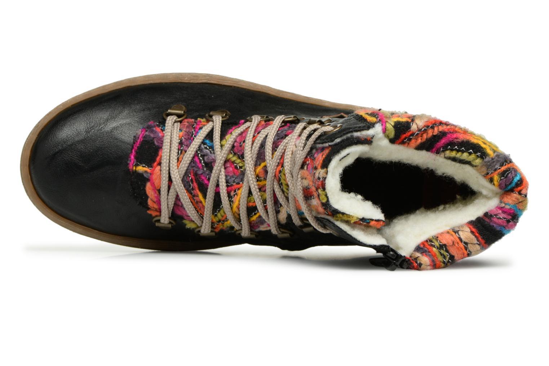 Bottines et boots Rieker Ilam Z6743 Noir vue gauche