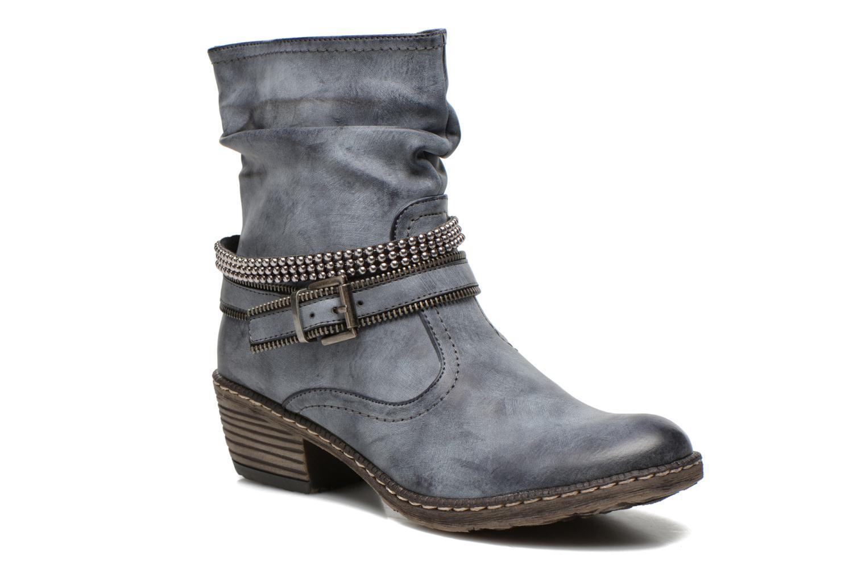 Stiefeletten & Boots Rieker Kady K1496 blau detaillierte ansicht/modell