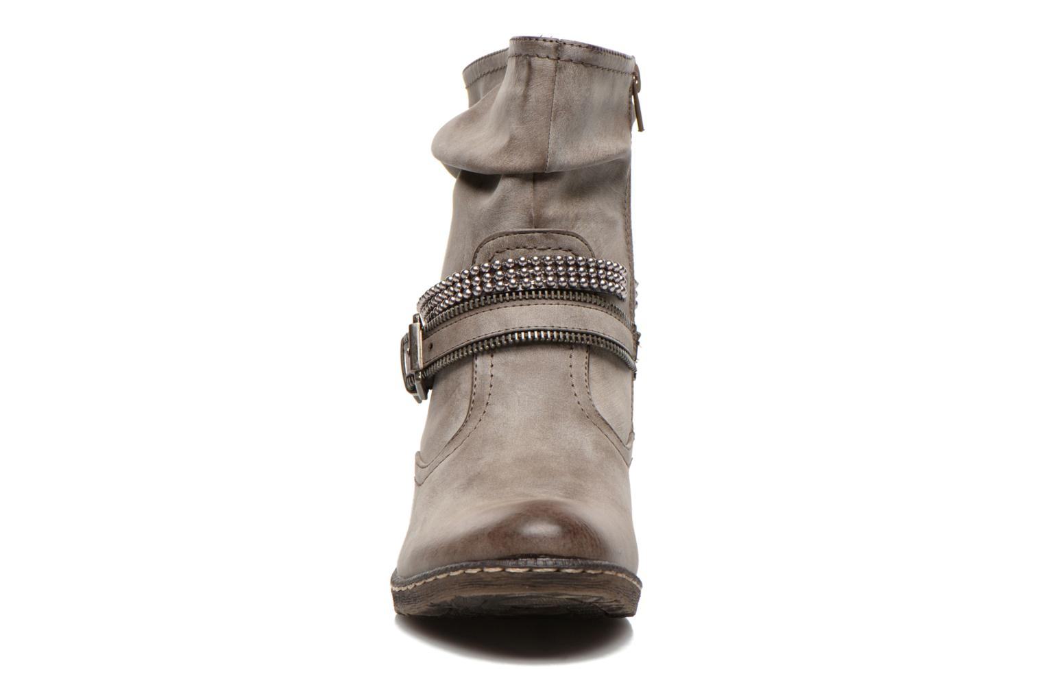 Ankle boots Rieker Kady K1496 Brown model view
