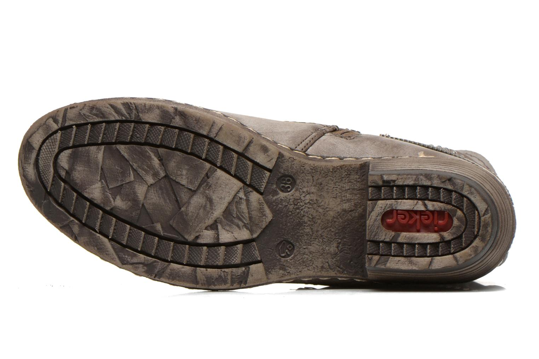 Stiefeletten & Boots Rieker Kady K1496 braun ansicht von oben