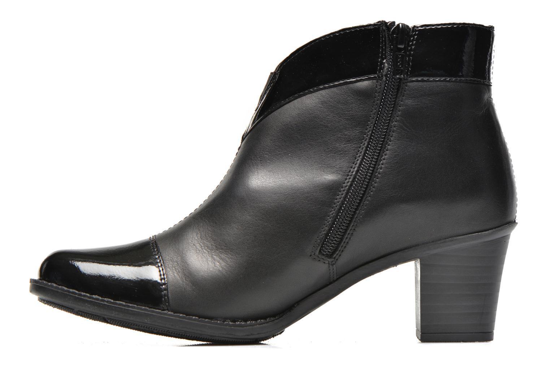 Bottines et boots Rieker Sally Z7664 Noir vue face