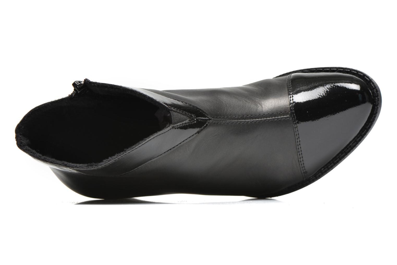 Bottines et boots Rieker Sally Z7664 Noir vue gauche