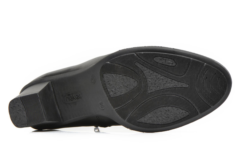 Bottines et boots Rieker Sally Z7664 Noir vue haut