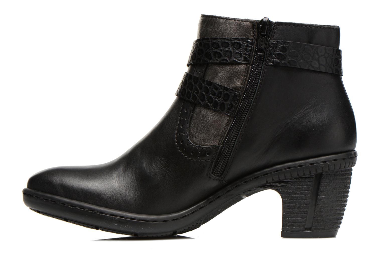 Bottines et boots Rieker Laet 70252 Noir vue face