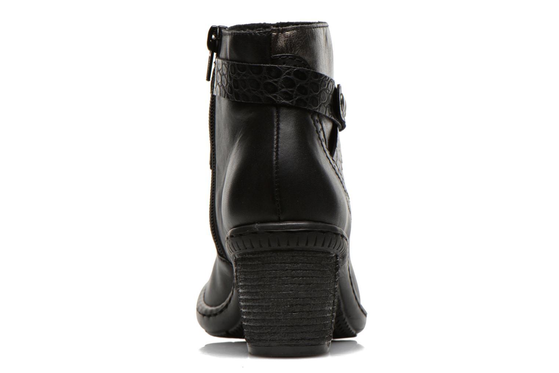 Bottines et boots Rieker Laet 70252 Noir vue droite