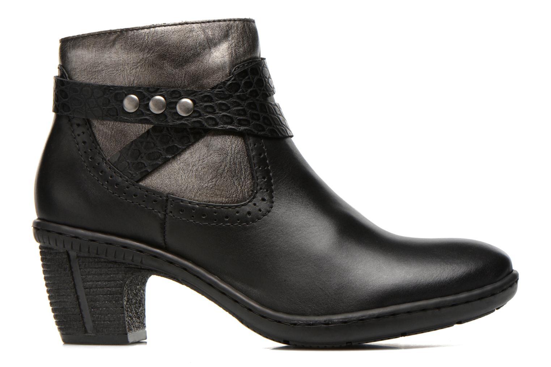Bottines et boots Rieker Laet 70252 Noir vue derrière