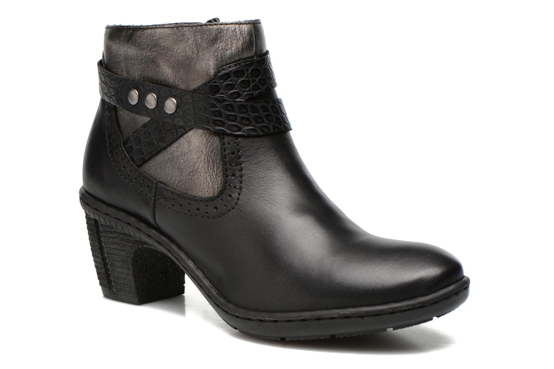 Bottines et boots Rieker Laet 70252 Noir vue détail/paire