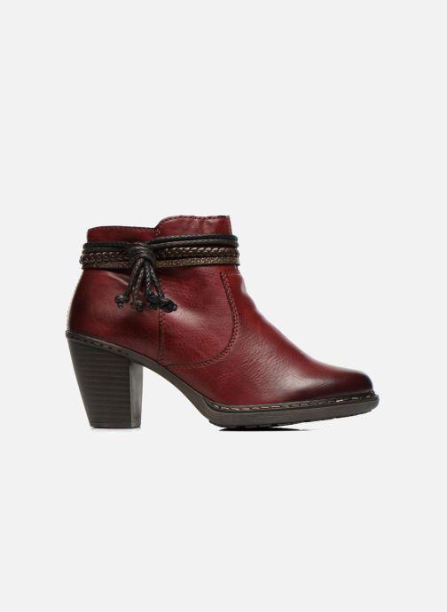 Bottines et boots Rieker Alice 55298 Bordeaux vue derrière